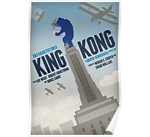 King Kong 1933 alternative movie poster Poster