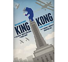 King Kong 1933 alternative movie poster Photographic Print