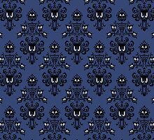 Haunted Mansion Wallpaper by Cat Vickers-Claesens
