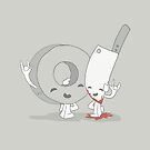 The Cutest Couple: Duct Tape & Knife by rebecca-miller