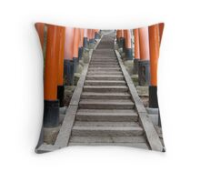 Fushimi Inari Jinja Throw Pillow
