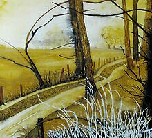 PATH AT HARLESTON, NORFOLK by ANNETTE HAGGER
