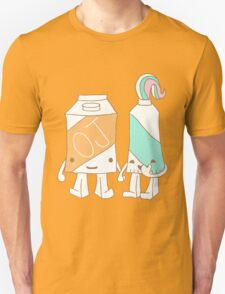 The Cutest Couple: Orange Juice & Toothpaste T-Shirt