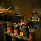 Tea Pots - Yogyakarta, Indonesia by Stephen Permezel