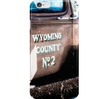 Truck from Wyoming  iPhone Case/Skin