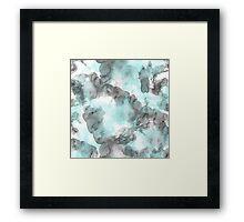 Pattern Blue Framed Print