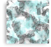 Pattern Blue Canvas Print