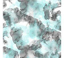 Pattern Blue Photographic Print