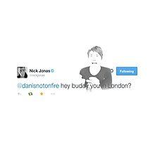 Hey Buddy you in London? by Dominique Demetz