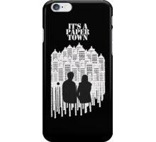 A Paper Town iPhone Case/Skin