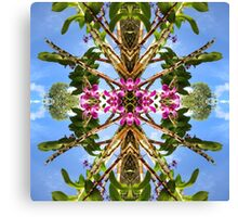 Tropical Kaleidoscapes 8 Canvas Print
