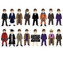 The Doctor's Wardrobe - Ten by SashDoesDoodles