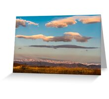 Indian Peaks Music Greeting Card