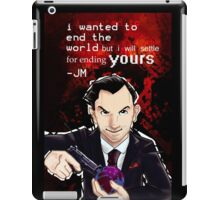 Moriarty- End your World.. iPad Case/Skin