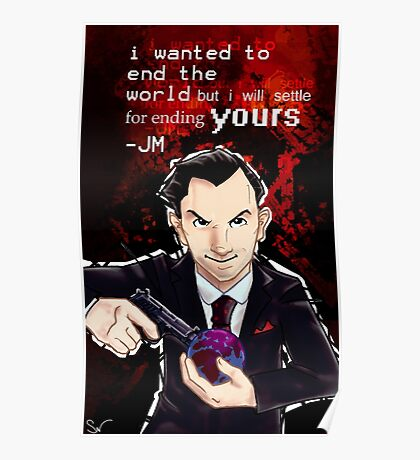 Moriarty- End your World.. Poster