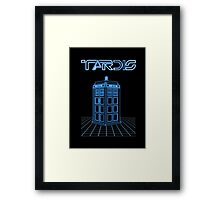 Retro Arcade Film Box  Framed Print