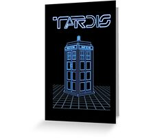 Retro Arcade Film Box  Greeting Card