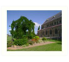 Church Garden Art Print