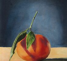 'Clementine on Grey' by Tracey Boulton