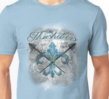 The Musketeers Grunge Style Logo Unisex T-Shirt