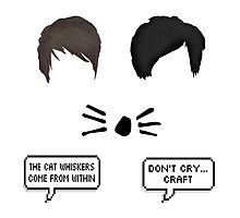 Dan and phil stickers pack Photographic Print