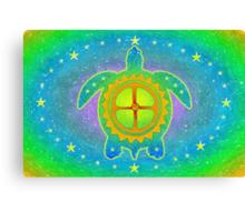 World Turtle Canvas Print