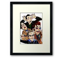 The Oncoming Storm... Framed Print
