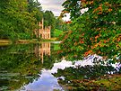 Painshill Park - HDR - Autumn Reflections by Colin  Williams Photography