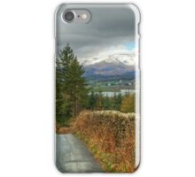 Road To The Lakes iPhone Case/Skin
