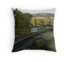 Little Blackfoot Bottomland Throw Pillow