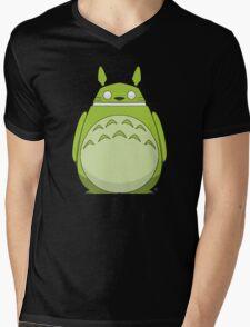 Totoroid Mens V-Neck T-Shirt
