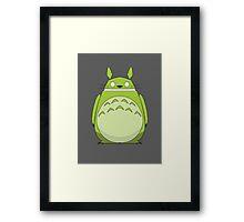 Totoroid Framed Print