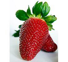 Strawberry #1 Photographic Print
