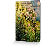 Spring Shall Plant Greeting Card