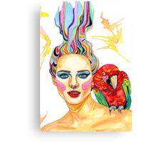 Carmen - A tropical mind Canvas Print
