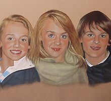 PORTRAIT OF DELIGHTFUL KIDS by Brian Towers
