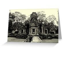 Angkor Wat Temples  Greeting Card