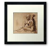 spare parts Framed Print
