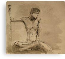 skeleton me Canvas Print