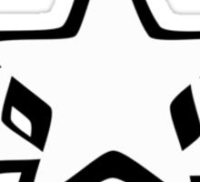 Tri Star. Sticker