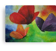 Original butterfly artwork Canvas Print
