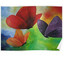 Original butterfly artwork Poster