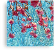 Pastel Blossoms Canvas Print
