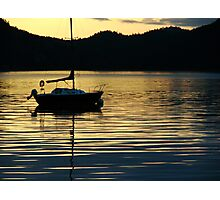Sunrise on the Sound Photographic Print