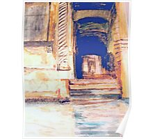 Venetian Doorway   /  Watercolor     ( My Paintings ) Poster