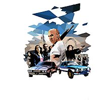 fast and furious Photographic Print
