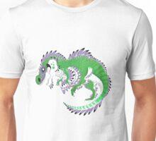 Genderqueer Pride Dinosaur Unisex T-Shirt