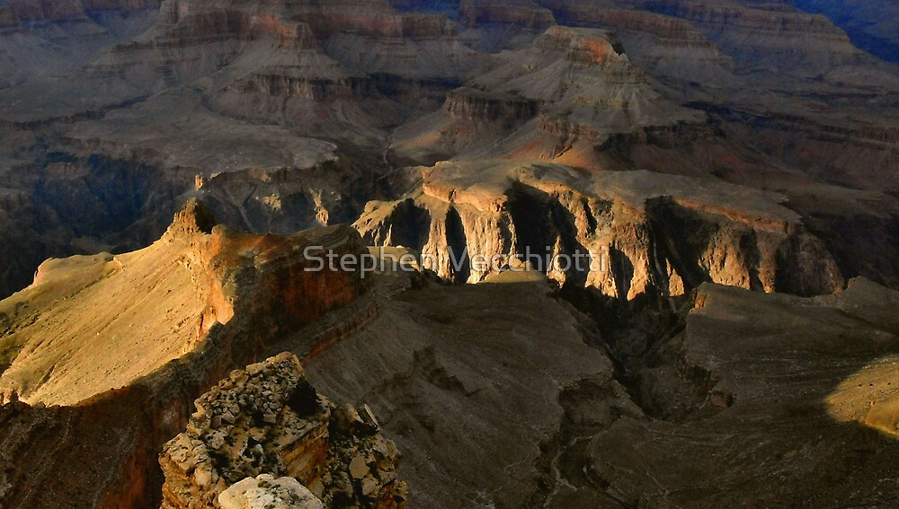 Late Afternoon Light, Grand Canyon by Stephen Vecchiotti