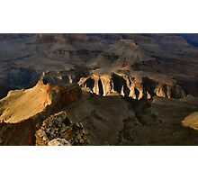 Late Afternoon Light, Grand Canyon Photographic Print