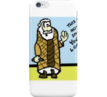 Obi-Wan Cannoli iPhone Case/Skin